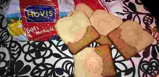 Pão metade branco, metade marrom - Reprodução/Mail Online