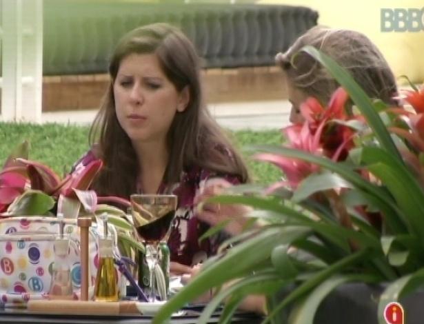 """26.mar.2013 - Finalistas Andressa, Fernanda e Nasser avaliam a 13° edição do """"Big Brother Brasil"""""""
