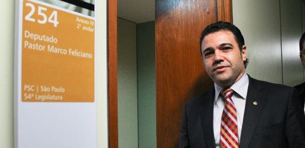 O deputado federal Marco Feliciano (PSC-SP) - Andre Borges/FolhaPress