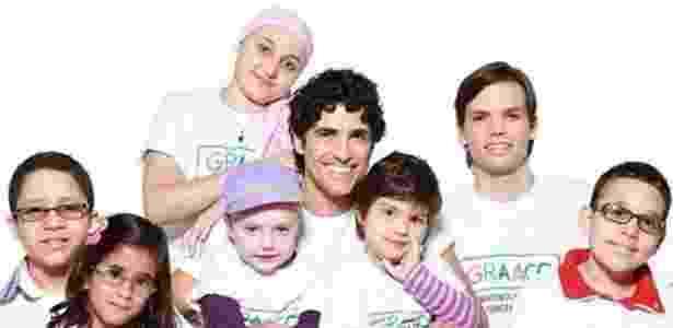 Gianecchini posa para campanha do GRAAC (Grupo de Apoio ao Adolescente e à Criança com Câncer)  - Reprodução/Instagram