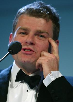 O escritor Mark Haddon, autor do livro que serviu de inspiração para a peça - Bruno Vincent / Getty Images