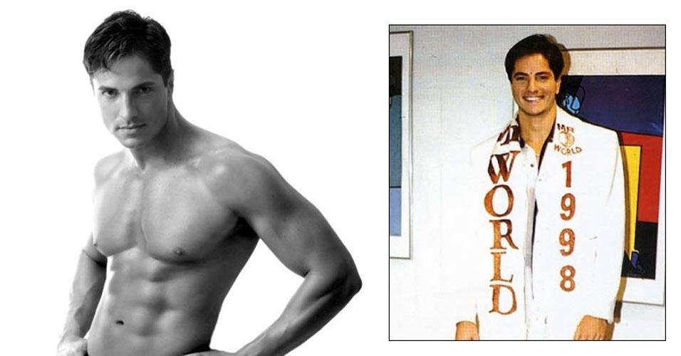 O venezuelano Sandro Esperanza venceu o Mister Mundo 1998, realizado em Troia, em Portugal