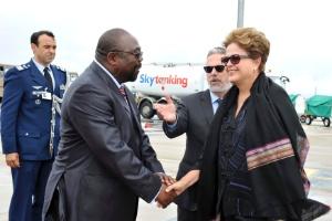 Presidente Dilma Rousseff em Durban