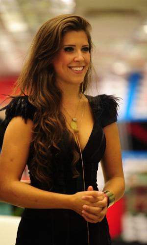 """26.mar.2013 - Andressa ficou em 3º lugar no """"BBB13"""" e levou  R$ 50 mil para a casa"""