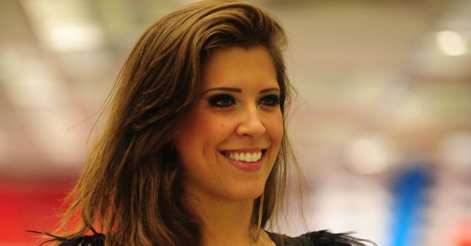 26.mar.2013 - Andressa ficou em 3º lugar no