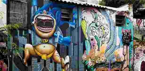 Grafite Beco do Batman - Fernando Donasci/UOL - Fernando Donasci/UOL