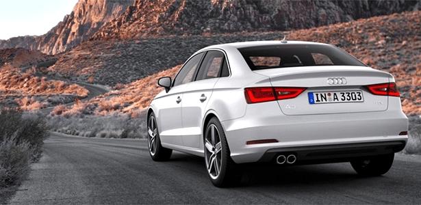 Audi A3 Sedan chega em 2014 para brigar forte com o sedã Mercedes-Benz CLA, já lançado - Divulgação