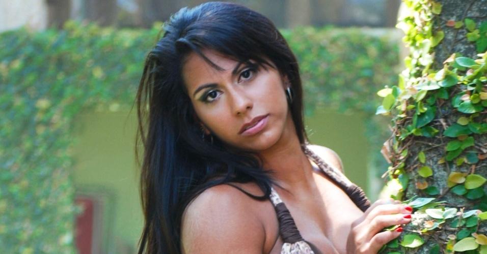 Barbara Carvalho vai representar o Vasco no Belas da Torcida 2013