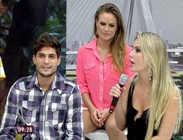 """27.mar.2013 - Campeã do """"BBB13"""", Fernanda afirma que sua ficha não caiu"""