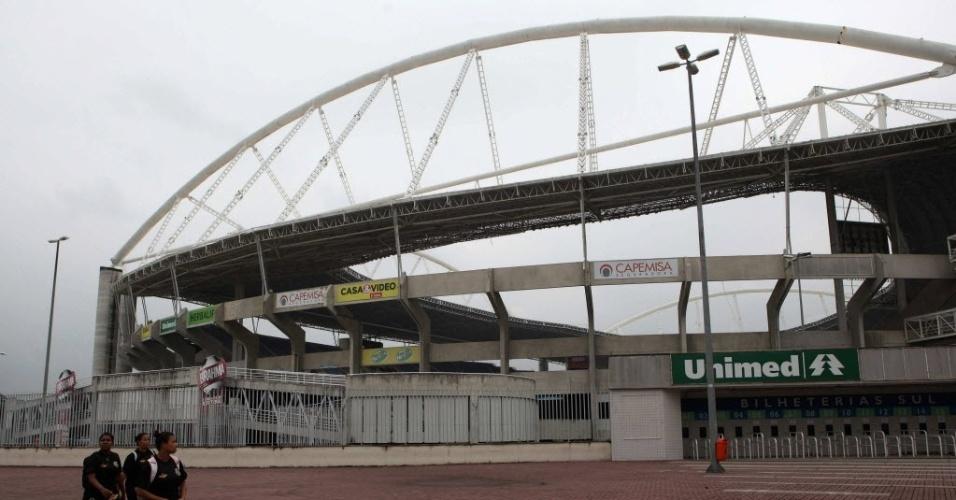 Engenhão é interditado pela prefeitura do Rio de Janeiro por problemas estruturais