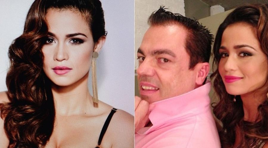 28.mar.2013 - Nanda Costa fez um ensaio fotográfico para uma revista feminina. As fotos foram divulgadas pelo cabeleireiro Marco Antonio de Biaggi por meio de sua página do Twitter
