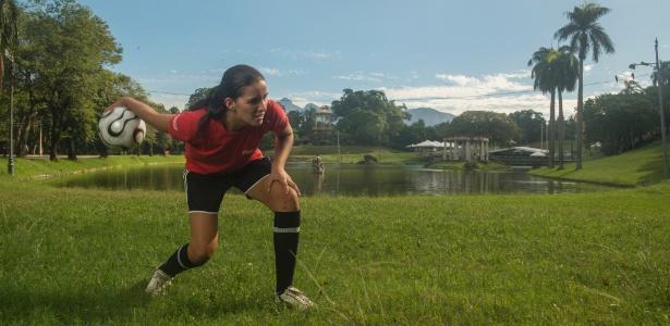 Maria Clissia, 15, foi gandula na Copa das Confederações e poderá ser de novo na Copa do Mundo