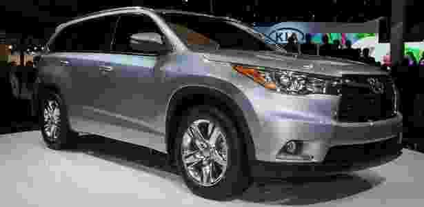 Toyota Highlander 2014 - Newspress - Newspress