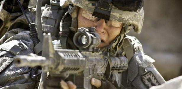 """Cena de """"Guerra ao Terror"""" (""""The Hurt Locker""""), de Kathryn Bigelow, que focaliza a dura rotina das tropas norte-americanas no Iraque - Divulgação"""