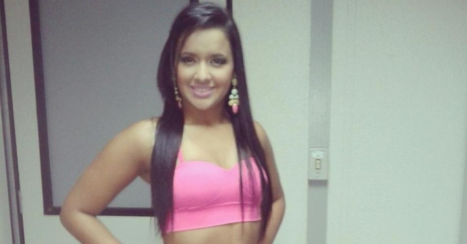 Salma Maires vai representar o Ceará no Belas da Torcida 2013
