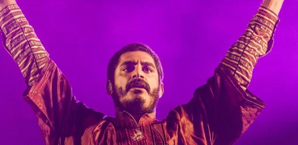 O cantor Criolo, que será uma das atrações da programação paralela do Brasil na Feira de Frankfurt - Leonardo Soares/UOL