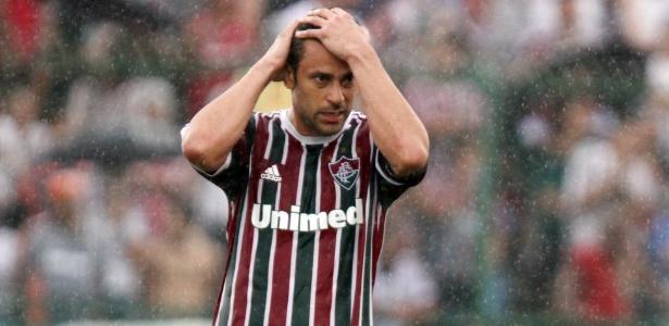 Atacante Fred, aprovado pelo Valencia, já rejeitou chance de abandonar o Fluminense - Ricardo Ayres / Photocamera