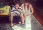 Ex-BBB Fani publica foto com carta gigante de fã - Reprodução/Instagram