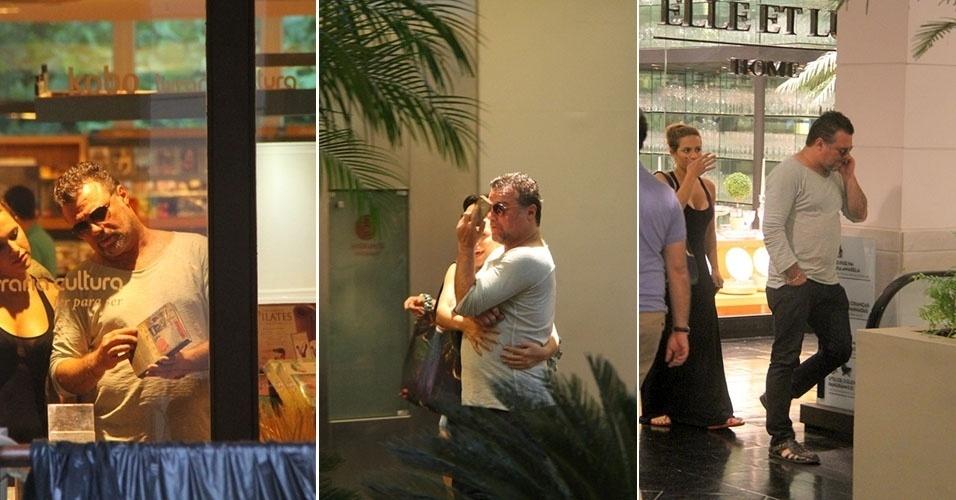 31.mar.2013 - Adriano Garib passeia em shopping no Rio