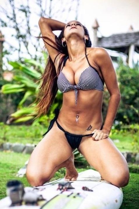 Angélica Vilela quer representar o Fortaleza no Belas da Torcida 2013