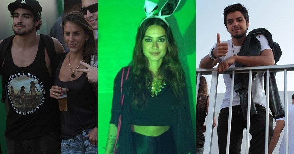 Famosos curtem o terceiro dia do Lollapalooza: Caio Castro, Thaila Ayala e Rodrigo Simas