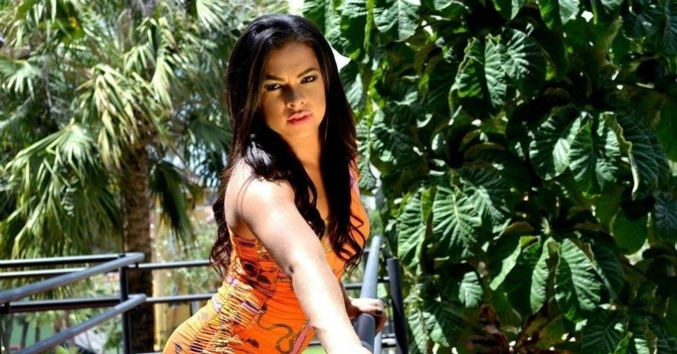Téssia Almeida poderá representar o Fortaleza no Belas da Torcida 2013