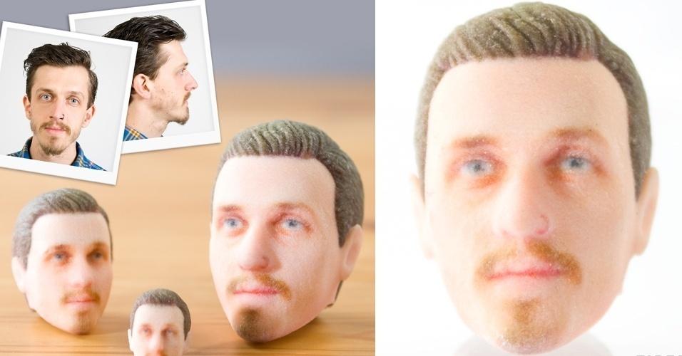 A partir de duas fotos (uma frontal e outra lateral), a Firebox consegue criar uma réplica da cabeça de qualquer pessoa. Após criar um desenho baseado nas imagens, a empresa utiliza uma impressora 3D para criar o objeto. O valor, no site da própria empresa, para criar a réplica varia de 40 a 80 libras (aproximadamente de R$ 123 a R$ 246)