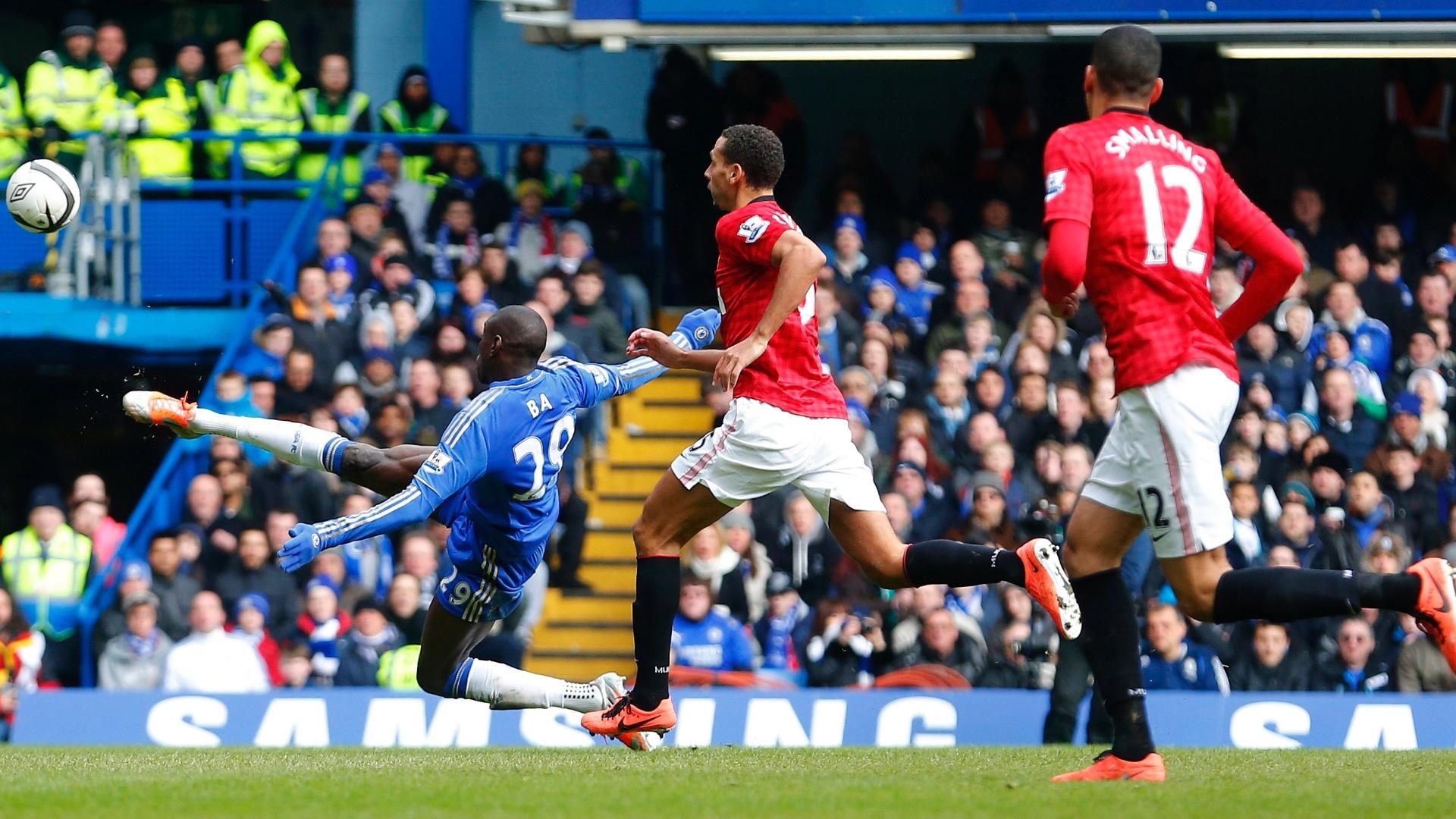 Manchester City Contra Chelsea: Golaço De Ba E Defesa De Cech Classificam Chelsea Contra