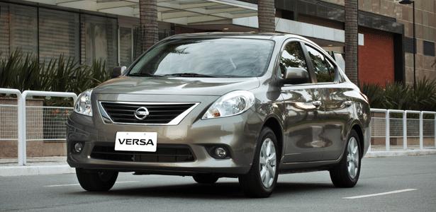 Versa 2014 parte de R$ 37.390 (com airbag duplo e ABS) e vai a R$ 44.890 (completo) - Divulgação