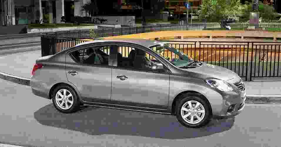 Nissan Versa 2014 - Divulgação