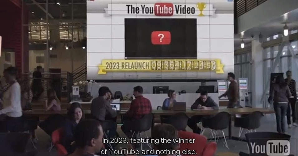 O Google anunciou a suspensão do YouTube em pegadinha de 1º de abril