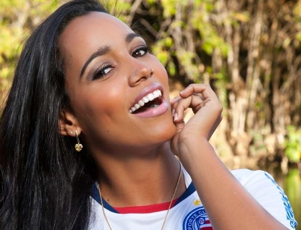 Katiely Kathissumi vai representar o Bahia no Belas da Torcida 2013