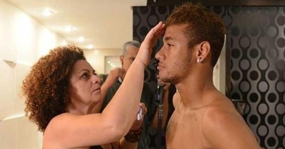 """Neymar se prepara para gravar """"Amor à Vida"""", novela do Walcyr Carrasco"""