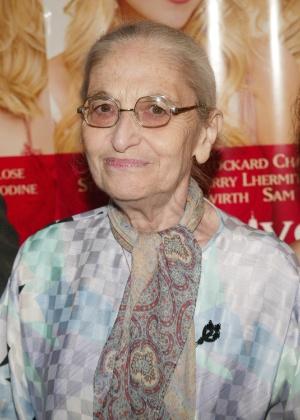 """A escritora Ruth Prawer Jhabvala em première de """"Le Divorce"""" em Nova York em 2003 - Evan Agostini/Getty Images"""