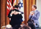 1979: Egito e Israel assinam o Acordo de Camp David - AFP PHOTO