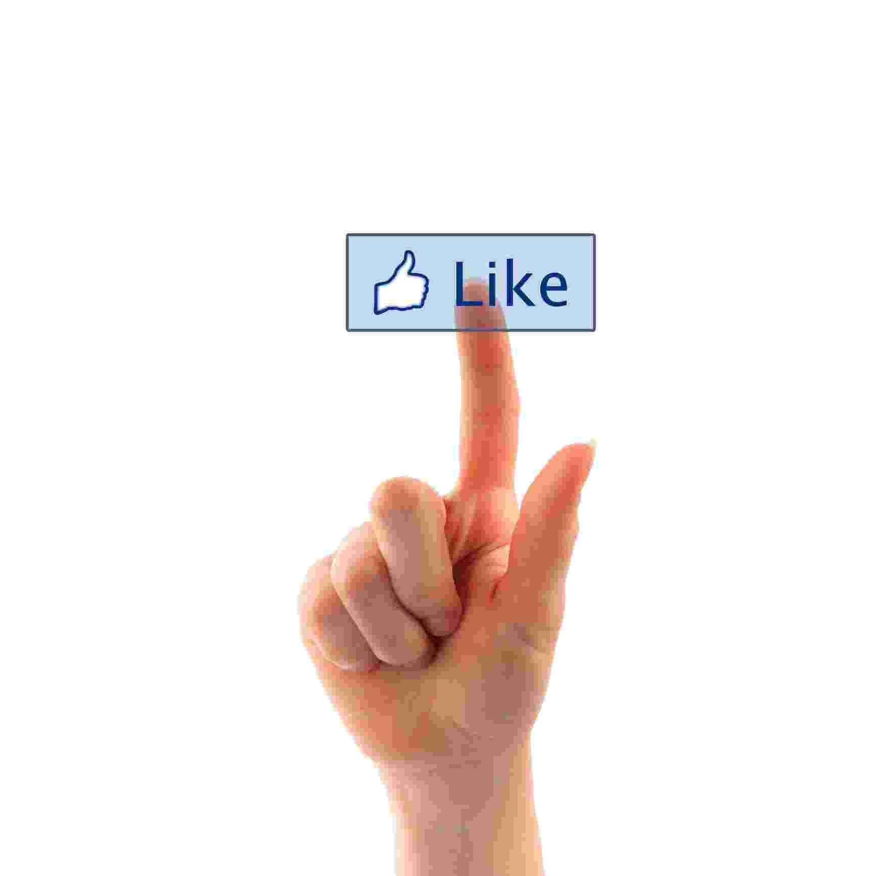 facebook like curtir botão - ThinkStock