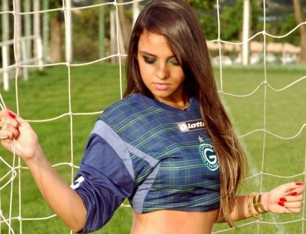 Larissa Lacerda vai representar o Goiás no Belas da Torcida 2013