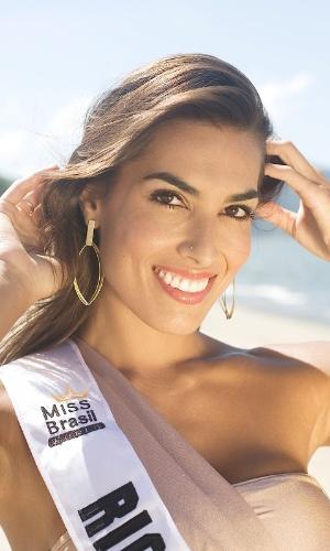 Luciane Escouto, musa do vôlei e candidata do Rio Grande do Sul no concurso Miss Mundo Brasil