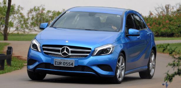 Mercedes-Benz Classe A, um dos cotados a ser produzido no Brasil, custa atualmente a partir de R$ 99.900 - Murilo Góes/UOL