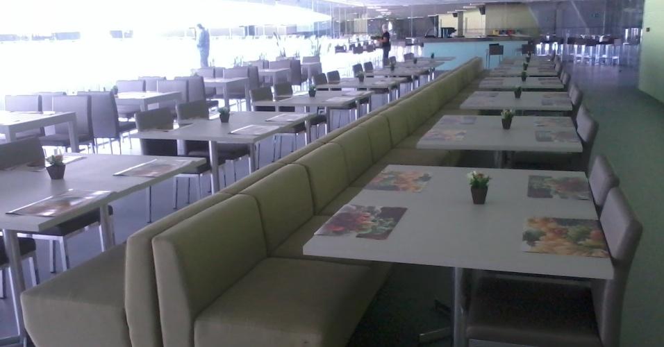 O restaurante vai funcionar de segunda a sexta-feira das 8h às 17h
