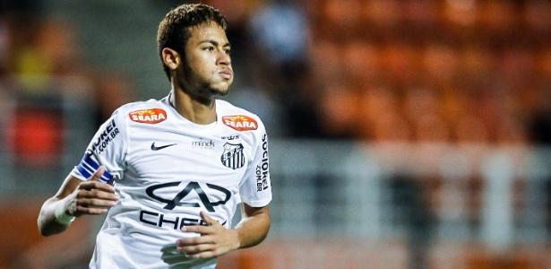 Formado na base do Santos, Neymar conquistou a Libertadores de 2011 com o clube paulista