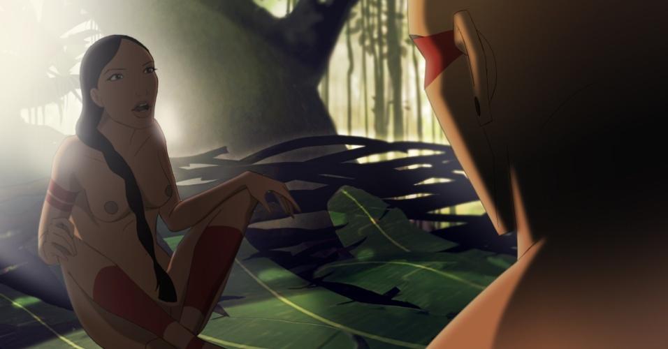 Cena da animação