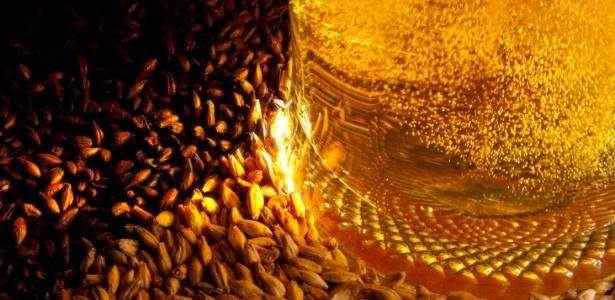 Lei da Pureza Alemã prega que a verdadeira cerveja deve conter três ingredientes: água, cevada e lúpulo - Thinkstock