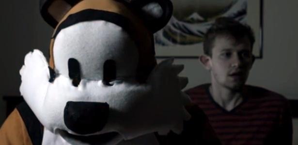Personagens dos quadrinhos, Calvin e Hobbes ganham versão sombria em vídeo - Reprodução/Youtube