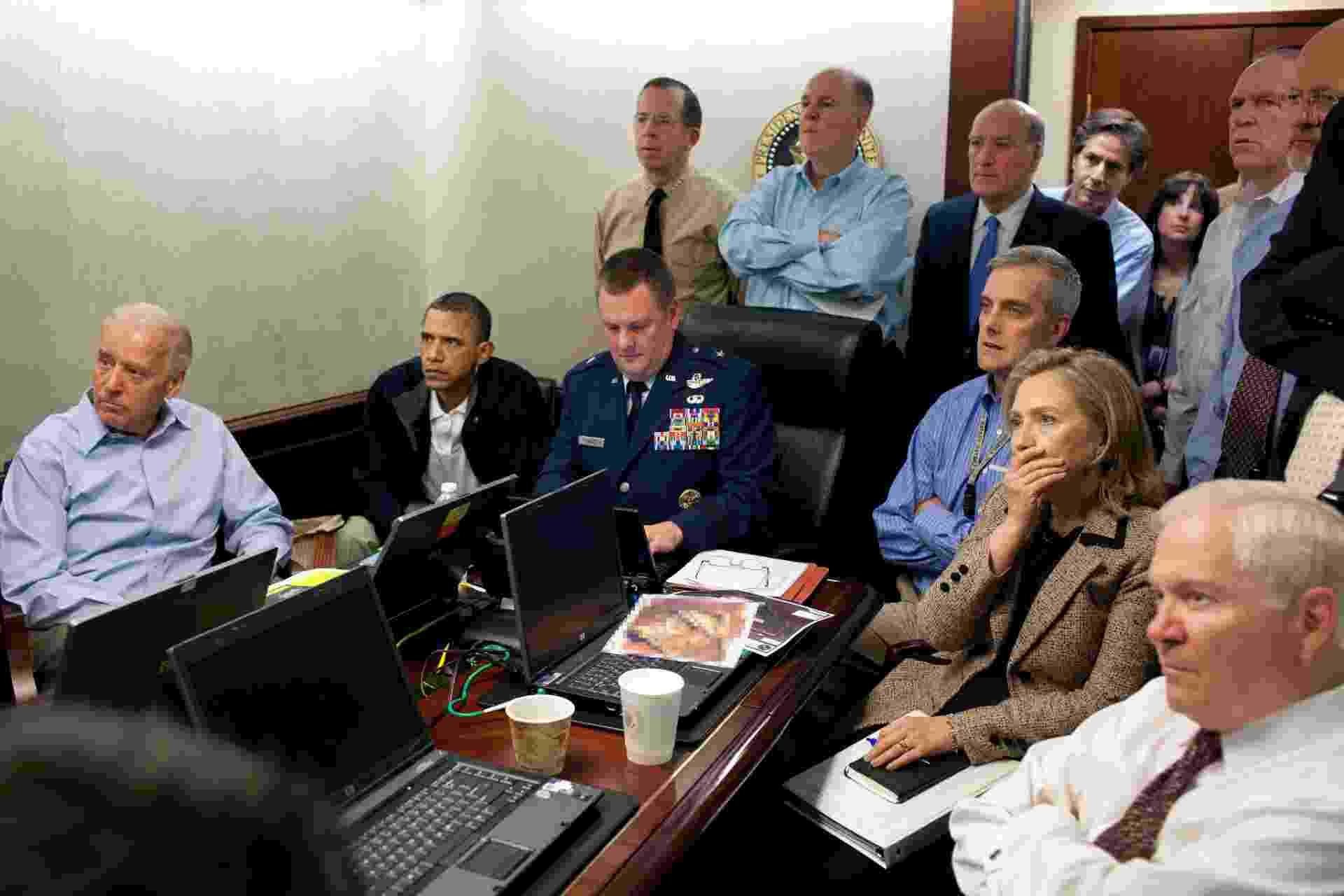 Presidente dos EUA acompanha invasão do esconderijo de Osama Bin Laden - Pete Souza/White House