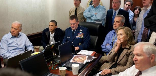 Presidente dos EUA acompanha invasão do esconderijo de Osama Bin Laden