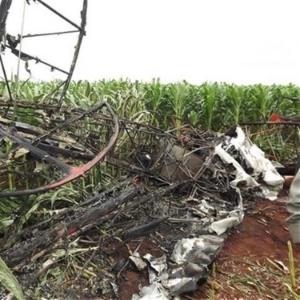 Avião que caiu em Perolândia; Anac apura as causas