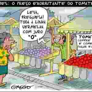A alta de até 150% no preço do tomate repercutiu nas redes sociais e tem gerado muita polêmica entre os consumidores - Reprodução