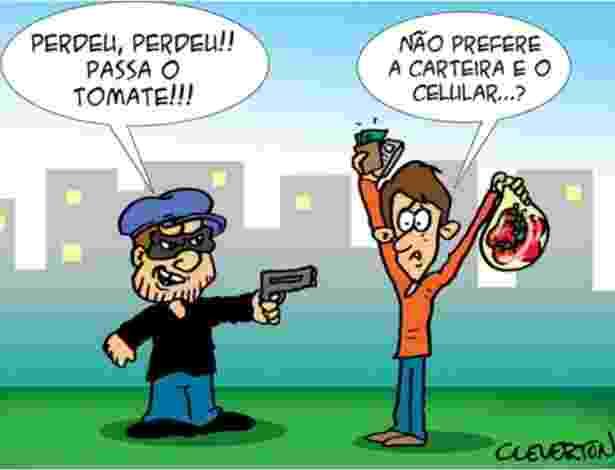 A alta de até 200% no preço do tomate repercutiu nas redes sociais e tem gerado muita polêmica - Reprodução