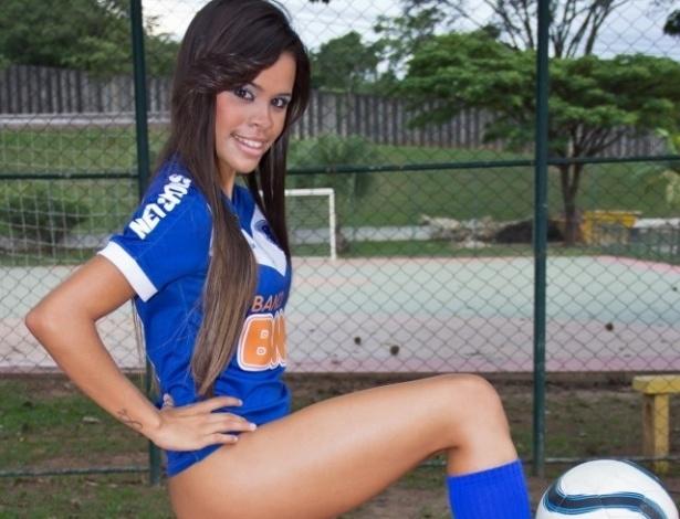Izabela Soares vai representar o Cruzeiro no Belas da Torcida 2013